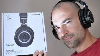 Audio Technica ATH M50xBT | Insane battery life