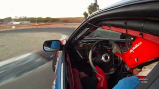 2 laps Amp Motorsports-Park - Driver Spike Chen Drifting Supercharged ls1 240sx magnuson 500HP