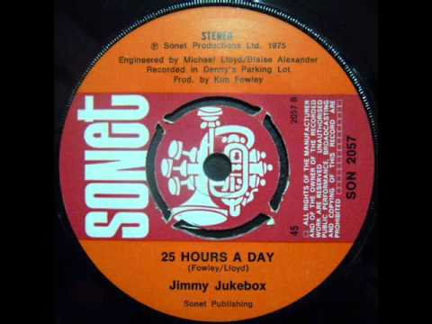 Jimmy Jukebox - 2.25 hours day