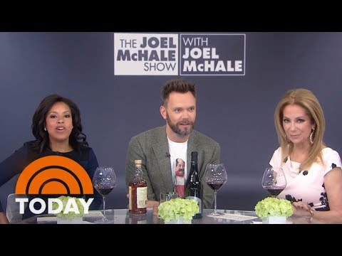 Joel McHale Talks About His Netflix  And Drinks Wine And Scotch  TODAY