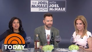 Joel McHale Talks About His Netflix Show And Drinks Wine And Scotch | TODAY