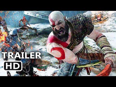 GOD OF WAR 4 Official E3 Trailer (2017) Kratos Gameplay HD