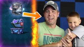 Top 5 MOST INSANE Chest Opening Reactions In Clash Royale | Best Legendary Cards Reactions #11