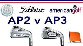 Titleist AP2 v AP3 | Head to Head | American Golf