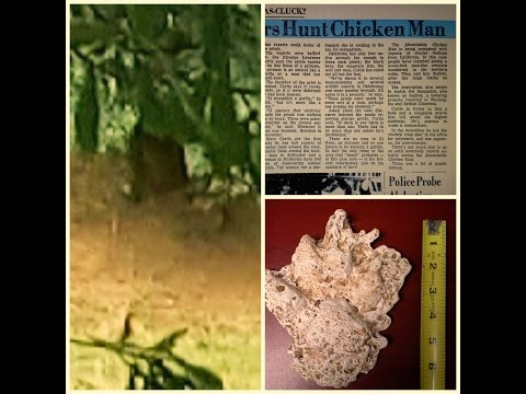 Officer shares Bigfoot, El Reno Chicken man and Dogman evidence