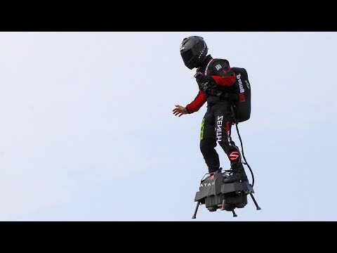 Jet-powered Flyboard Soldier Attempts To Cross English Channel – Watch Live