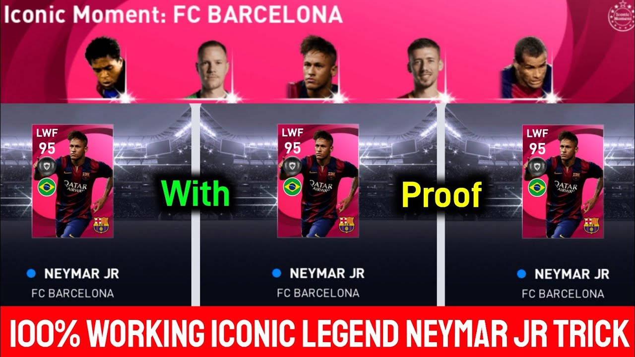 How To Get Iconic NEYMAR JR From Iconic Moment - FC BARCELONA Box Draw || Pes 2021 Mobile