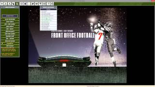 Front Office Football 7 Gameplay! Texans Series 2014 Season/Playoffs [1080p]