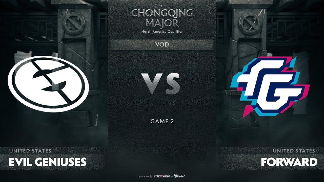 Evil Geniuses vs Forward Gaming, Game 2, NA Qualifiers The Chongqing Major