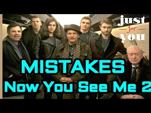 10 BIGGEST NOW YOU SEE ME 2 (2016) MISTAKES
