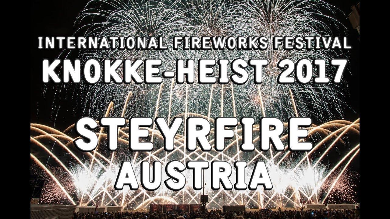 Int Fireworks Festival Knokke Heist 2017 Steyrfire Austria