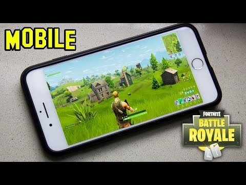 How to get Fortnite on Mobile (IPhone & Andriod) DOWNLOAD!!