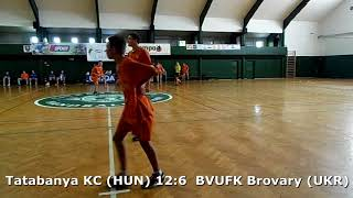 Handball. U17 boys. Sarius cup 2017. BVUFK Brovary (UKR) - Tatabanya KC (HUN) - 6:15 (1st half)