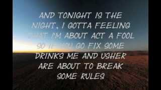 Ludacris - Rest Of My Life ft Usher & David Guetta (Lyrics) [NEW 2012]