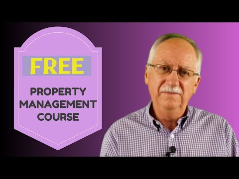 FREE Online Training Course for Property Management