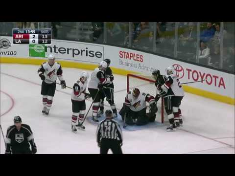 Arizona Coyotes vs Los Angeles Kings - April 2, 2017 | Game Highlights | NHL 2016/17