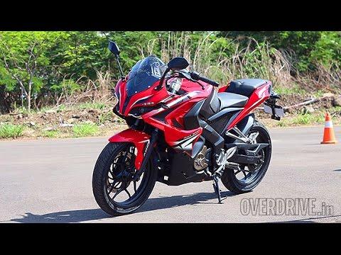 2015 bajaj pulsar rs 200 first ride review youtube