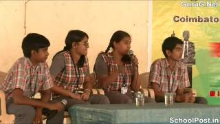 Part B   Semi finalists of Coimbatore's Biggest Debate Competition mp4