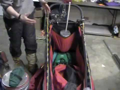 Iditarod Sled Packing