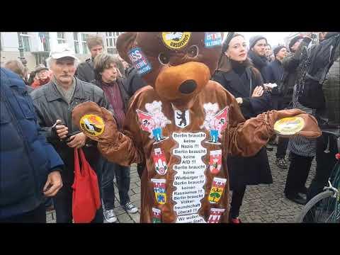 #Aufstehen Kundgebung am 9. November 2018 - Berlin, Brandenburger Tor