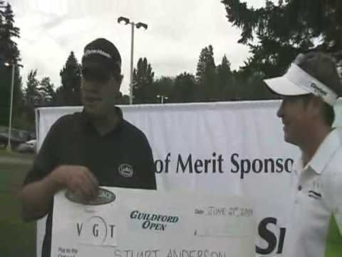 Stuart Anderson wins Guilford Open
