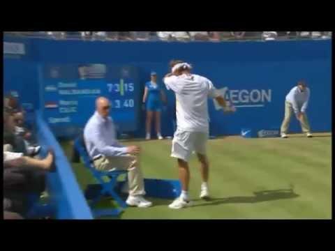 Queen's Final : David Nalbandian disqualified at Queen's ...