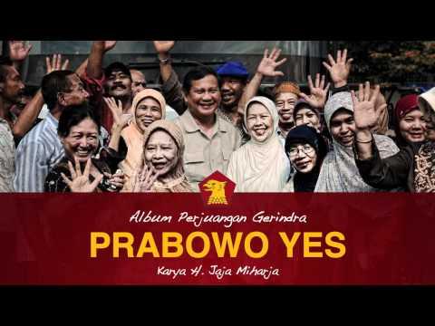 Dangdut Gerindra: Prabowo Yes Oleh H. Jaja Miharja