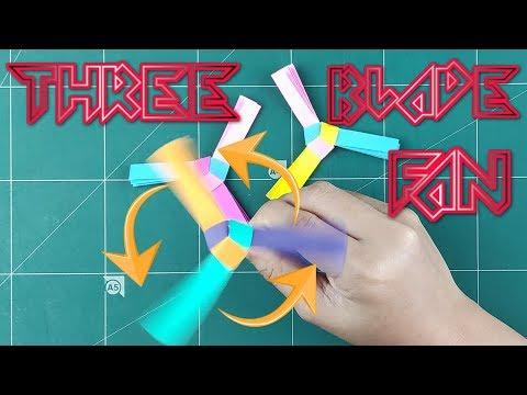 How to Make A Flying Helicopter Blades - Origami Easy Helicopter Blades Paper Folding Tutorials