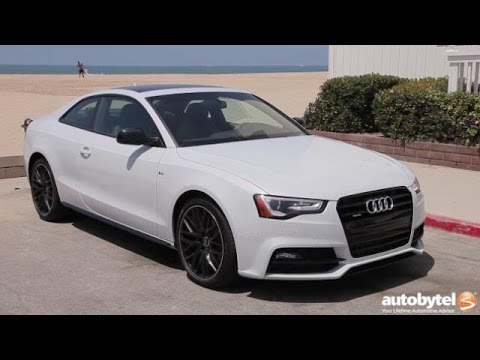 2016 Audi A5 S-Line Test Drive Video Review