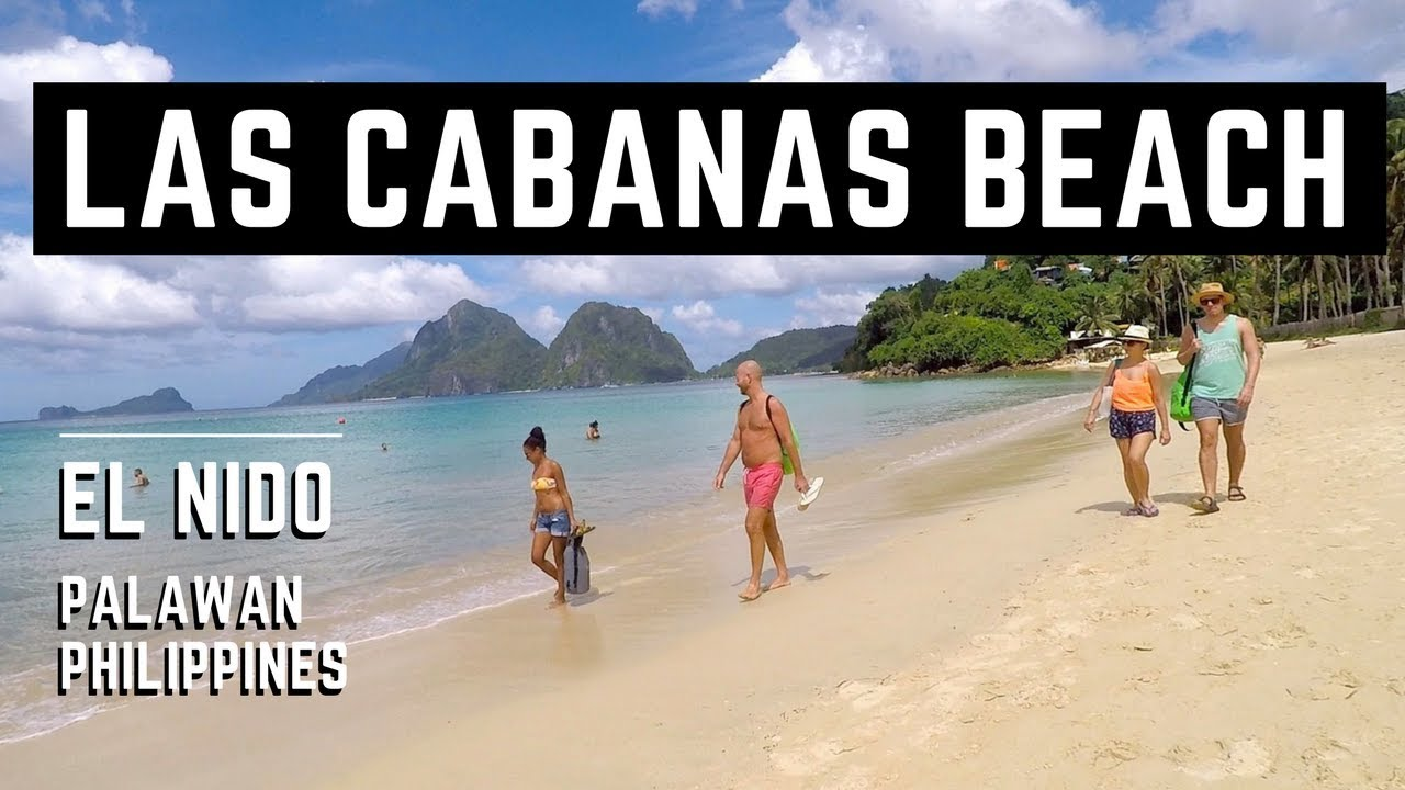 El Nido Las Cabanas Beach