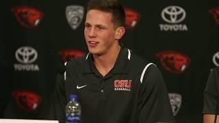 Adley Rutschman previews upcoming Oregon State Beavers baseball season