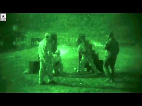 Military | Marines Use Night Vision to Engage Targets in Darkness: 1st Recon Night Shoot