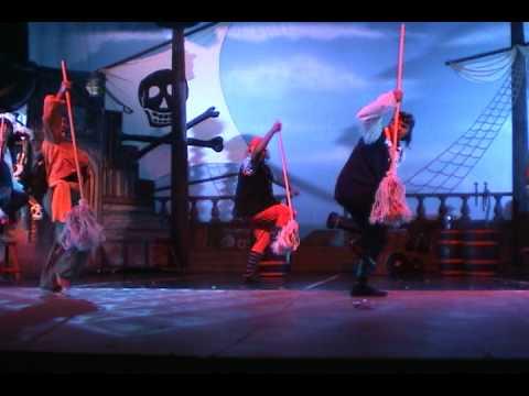"""CANTO DE PIRATAS"" Peter Pan el musical. Acapulco 2009"