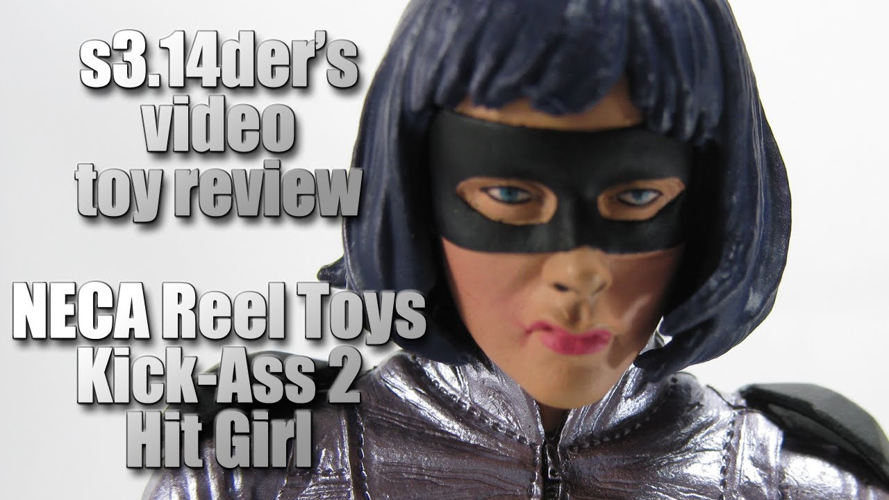 s3.14der's Toy Review - NECA Reel Toys - Kick-Ass 2 - Hit-Girl
