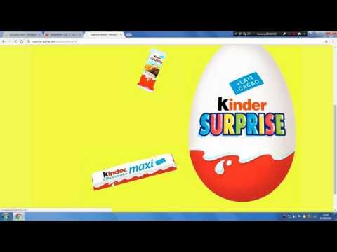 Сайт Kinder Сюрприз Супер Выводит без вложений Смотреть всем!