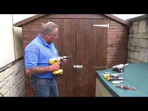 Fitting A Shed Lock How To Make Sure Your Garden Shed Is