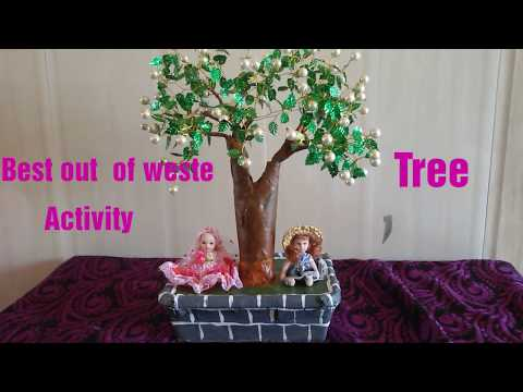 Best out of waste Tree
