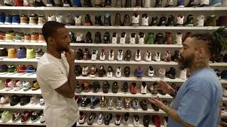 Sneaker Shopping with Pierre Jackson (Unboxing 2 unreleased Adidas  4D's)