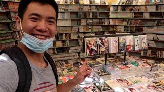 Les Boutiques de Manga d'Occasion à Paris au Milieu des Vacances ! Vlog # 21