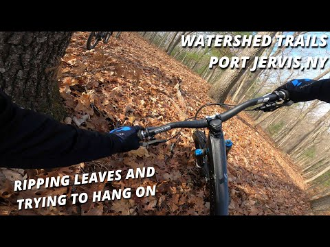 INSANE Flow In NY - Port Jervis,NY Watershed Trails | MTB