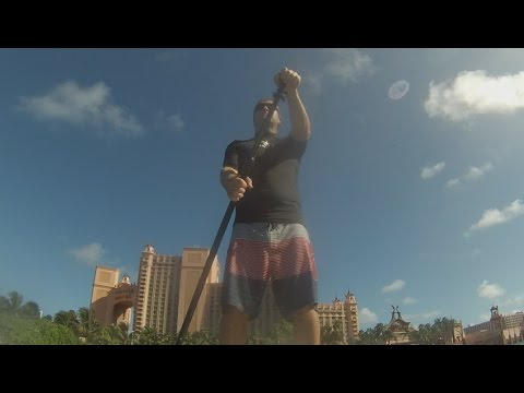 Stand Up Paddle Boarding in Nassau, Bahama´s