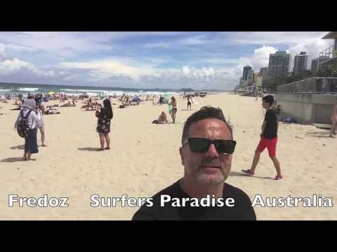 Gold Coast travel vlog .  Surfers Paradise Art Gallery