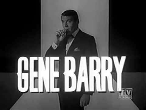 Amos Burke, Secret Agent (Intro) S1 (1963)