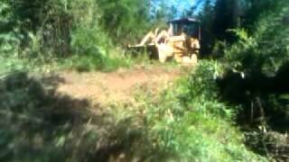 Case 450 dozer crawler loader with 4 in 1 (drott)