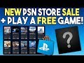 PlayStation Store Sale Live Right Now and Play a Great PS4 Game Free!