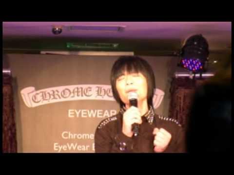 蕭敬騰  受邀獻唱 ~  Chrome  Hearts  Eyewear  入駐微風廣場 ~  發表會(一)