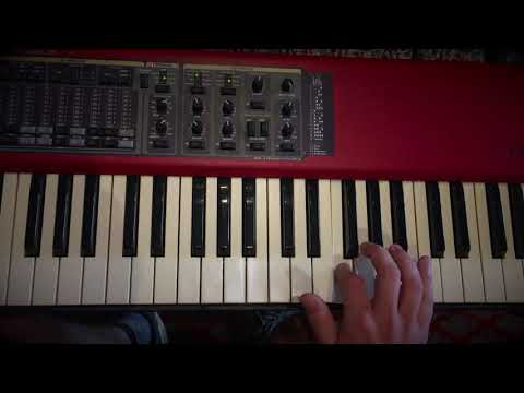 Arpeggioer -  udvidet jazz blues (klaver)