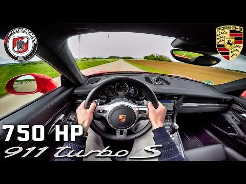 Porsche 911 Turbo S 750 HP PP Performance POV Test Drive by AutoTopNL
