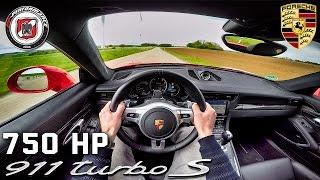 Porsche 911 Turbo S 750 HP PP Performance POV Test Drive by AutoTopNL