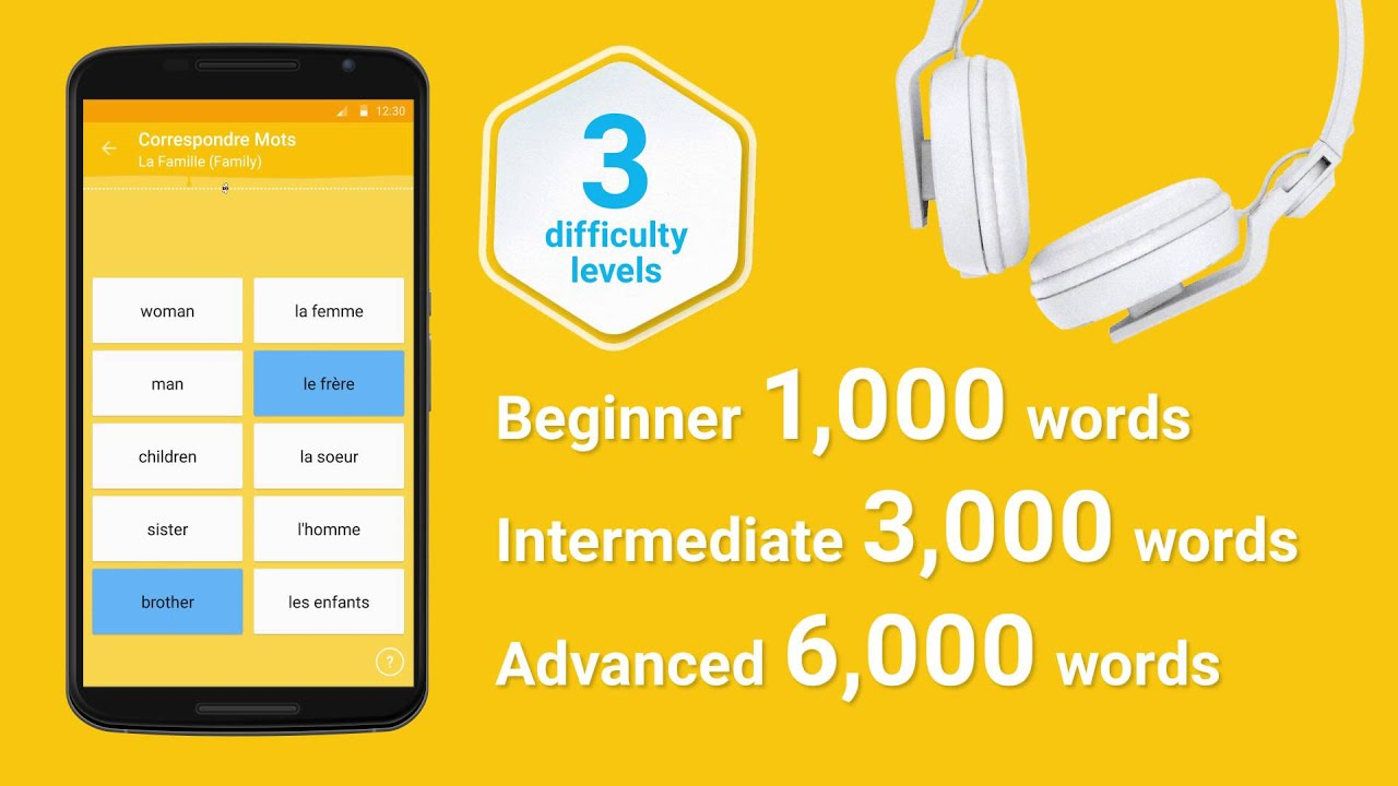 Learn English Vocabulary with FunEasyLearn